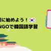 【無料】大人気言語学習アプリDuolingoで韓国語を学ぶ方法【簡単】